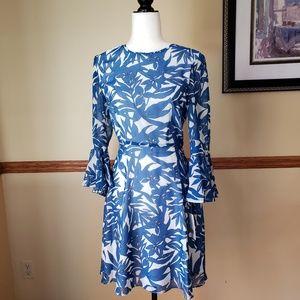 Donna Morgan elegance beel sleeve dress